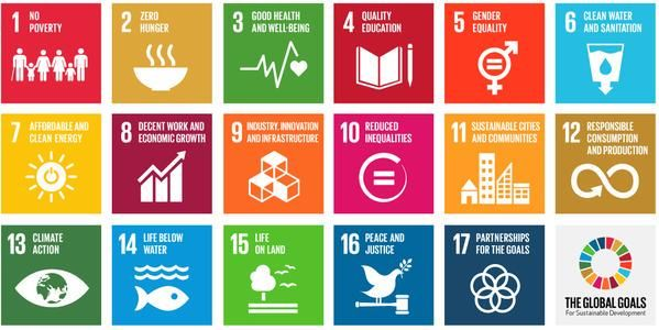 17 #GlobalGoals to: 1. End extreme poverty. 2. Fight inequality. 3. Fix climate change: http://www.globalgoals.org