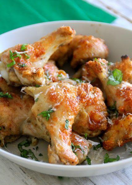 Kyllingklubber med parmesan og krydder
