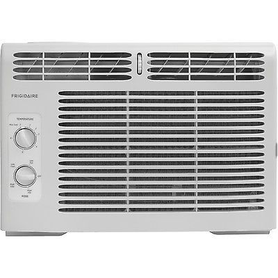 Small Window Air Conditioner 5,000 BTU 15 x 16 x 12 Low Noise Energy Efficient