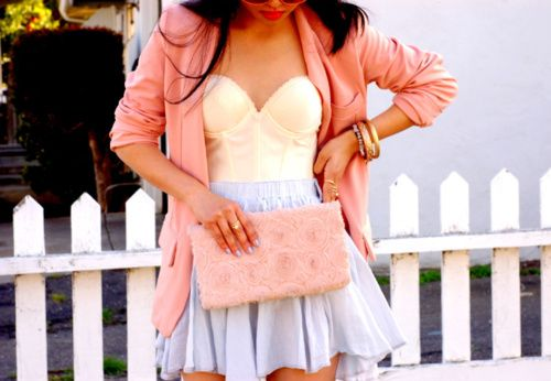 like dis combo: Pastel, Style, Fashionista, Dream Closet, Clothes, Dress, Cute Outfits, Spring Outfit
