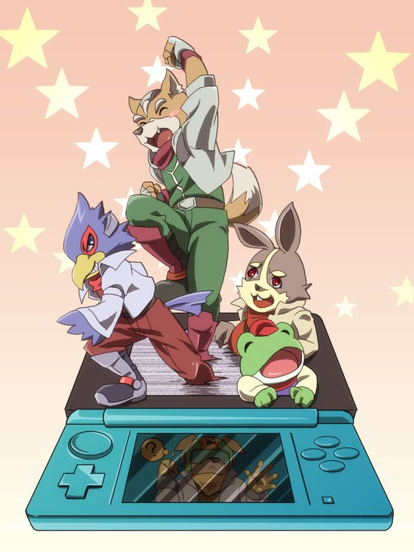 Star Fox on 3DS by Nihongo Cha