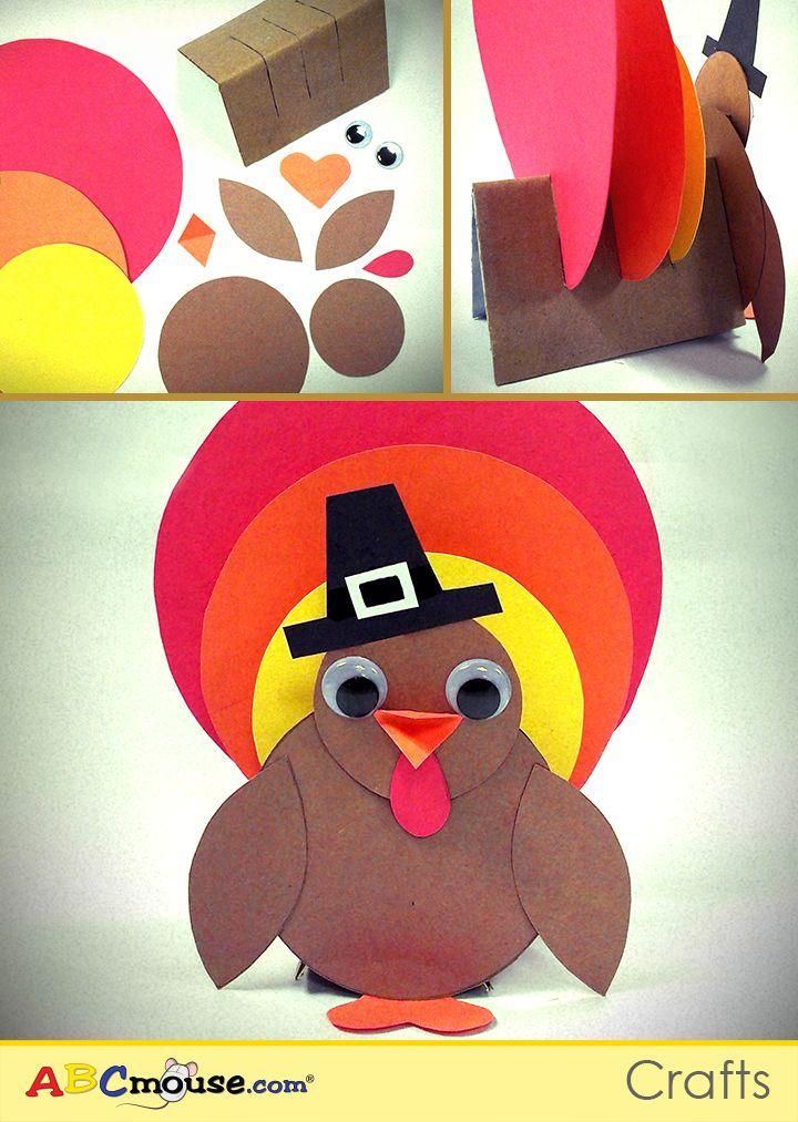 Hereu0027s a Thanksgiving turkey craft you can