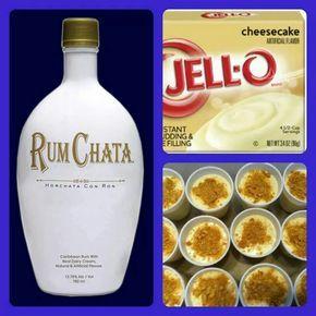 Rumchata Shots for your Friday night pleasure :-)