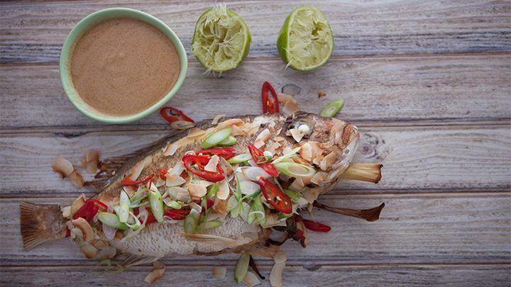 Recipe from everyday gourmet with justine schofield yum for Whole 30 fish recipes
