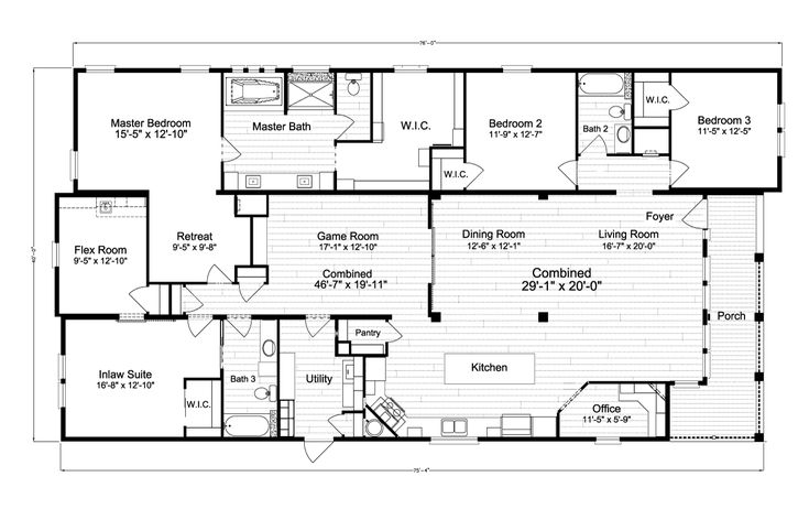 View La Belle IV floor plan for a 2847 Sq Ft Palm …