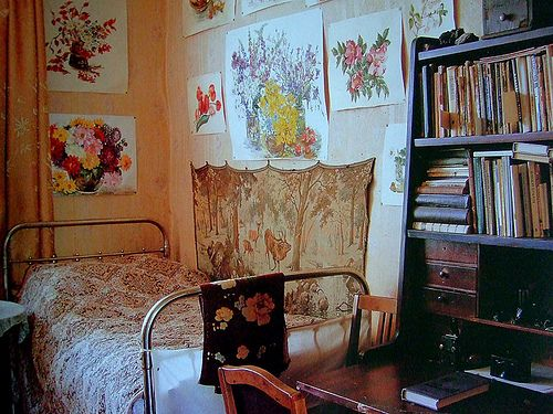 "an interior to love in the book ""Russian House"" by Ella Krasner"