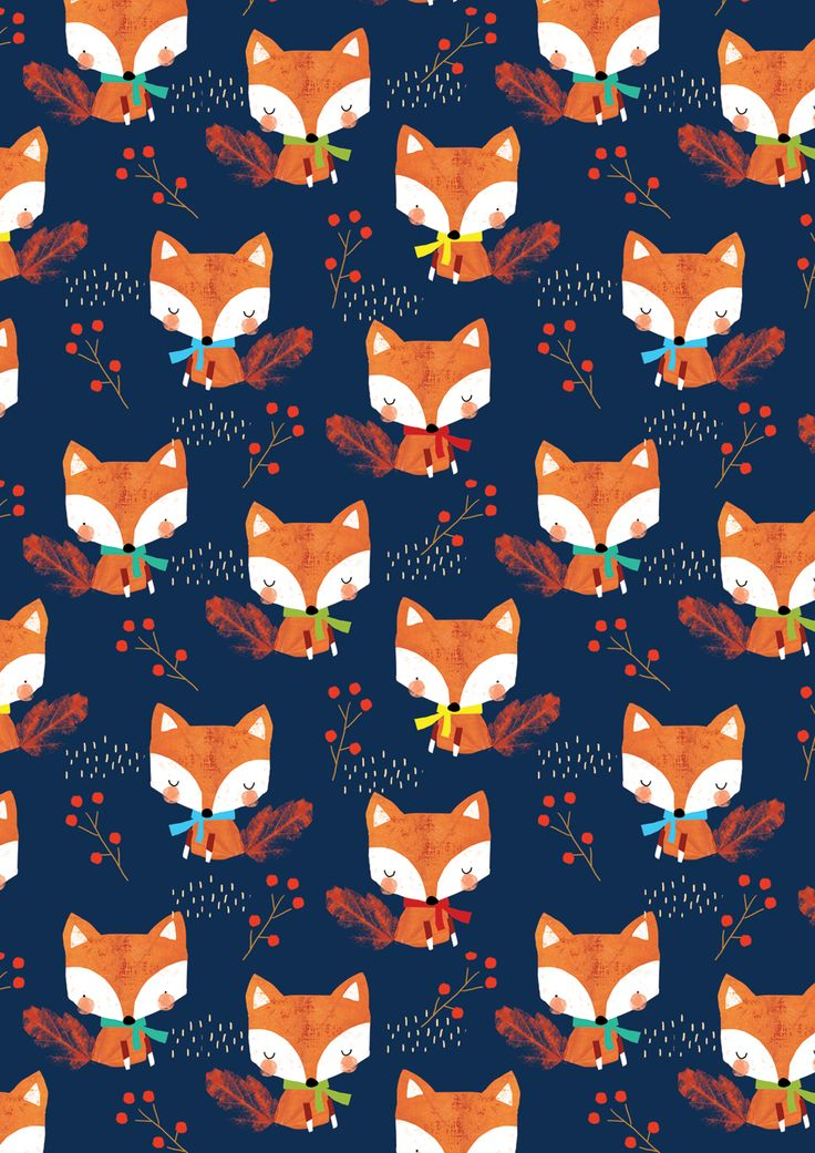 Alex Willmore - alternative version of autumn fox (Pattern)