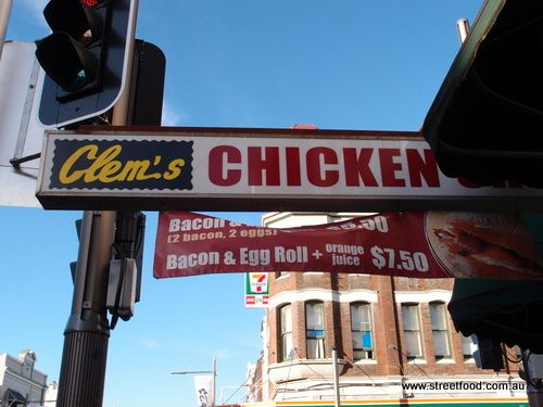 Clem's Chickens. The main roast chook contender on King Street.