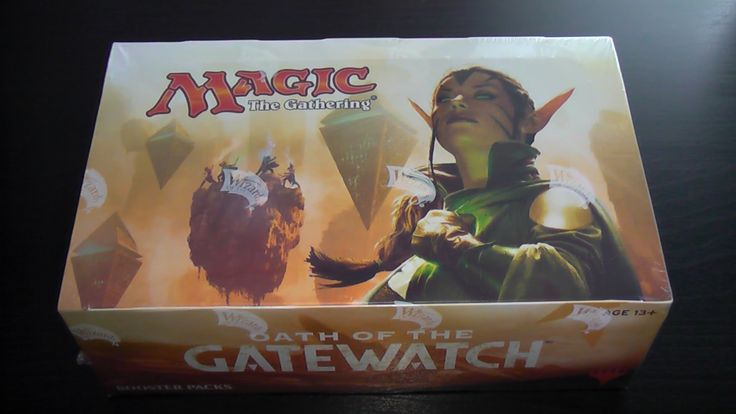 Mtg Booster Box Opening Oath Of The Gatewatch, A Couple Of Nice Mythic's...