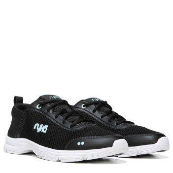 2017 More Ryka Elita MediumWide Slip On Sneaker CoralChrome Silver