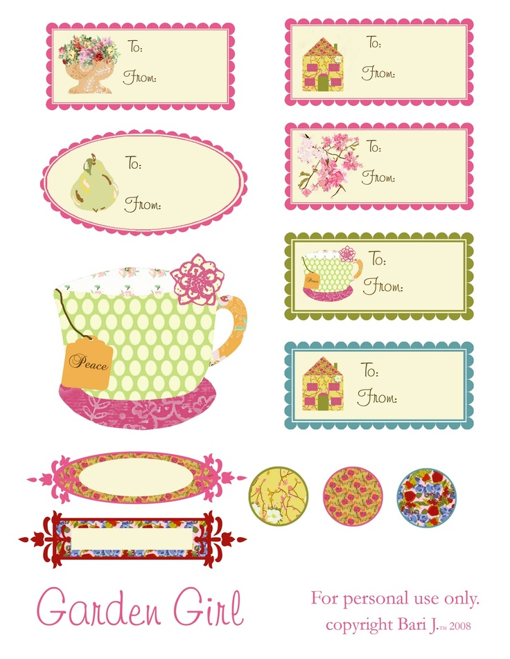 242 best printable gift tags images on pinterest gift tags tags cozinha free printable gift negle Choice Image