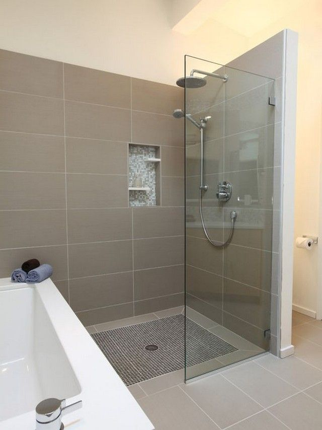 Best Showers Without Doors Ideas On Pinterest Half Glass - Tile shower designs without doors