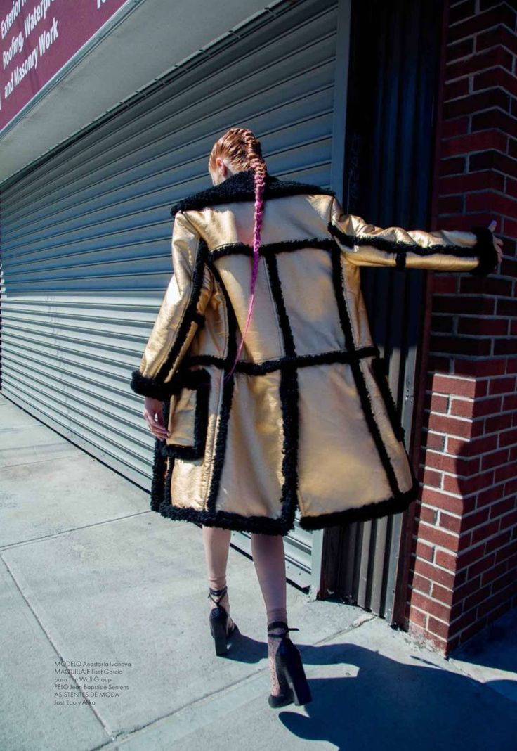 Fur Time: #AnastasiaIvanova by #Anairam for #ElleMexico December 2014