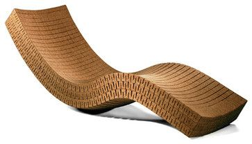 Cortiça Chaise Lounge : Branch: Sustainable Design for Living contemporary patio furniture and outdoor furniture