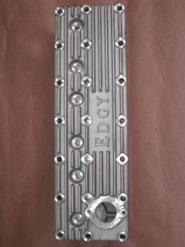 Edgy Speed Shop Cast Finned Aluminum Cylinder Head For