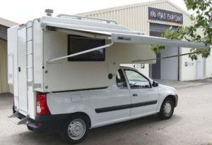 """Boîte a camper"" pentru Dacia Logan Pick-up | takethelongwayhome.eu"