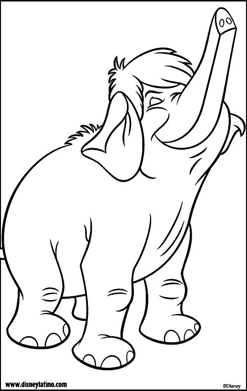 Jungle Book Color Page Disney Coloring Pages Color Plate Coloring Sheetprintable Coloring