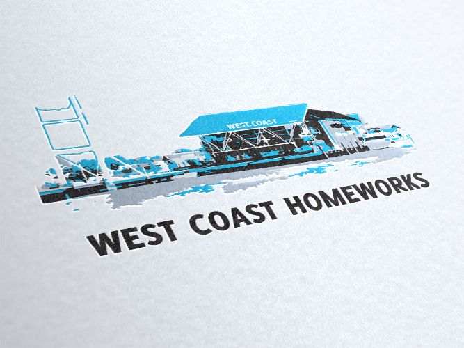 West Coast Homeworks Logo Design