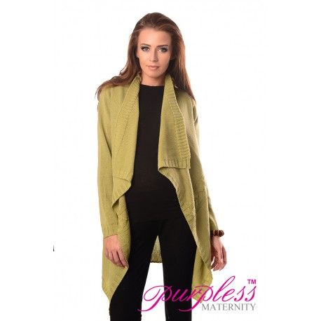 2in1 Maternity and Nursing Cascade Open Front Cardigan 9003 Pistachio  Every maternity wardrobe needs a cardigan. Our 2in1 maternity and nursing long sleeve cascade open front cardigan will add a level of comfort when you feel the need to wrap up.