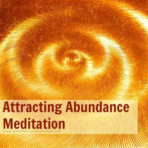 Guided meditation for attracting abundance, pulling that which you desire  into your energy field and aligning it with your energy.