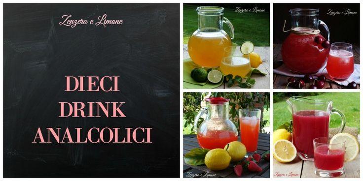 Dieci+drink+analcolici
