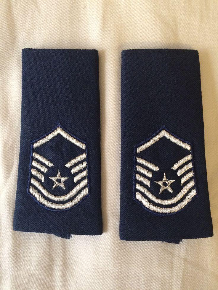 US Air Force shoulder marks, Master Sergeant.