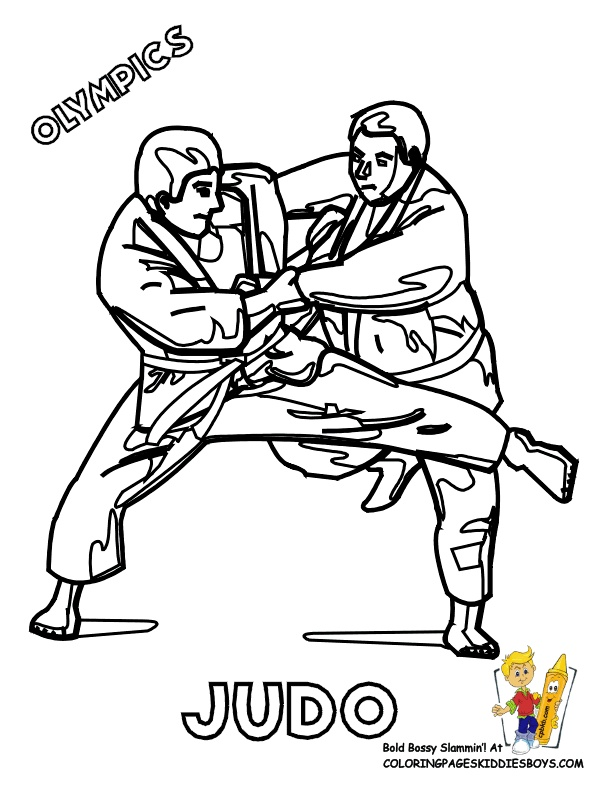 11 best martial arts coloring pages images on