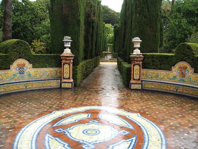 Jardines del Alcázar de Sevilla (parte II) | paisaje libre
