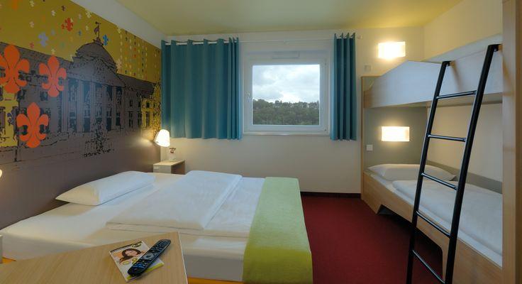 Familienzimmer für 4 Personen im B&B Hotel Wiesbaden