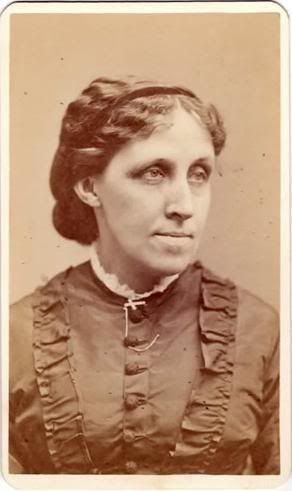 """Louisa May Alcott, nurse during the Civil War and well known author, wrote """"Little Women"""""""