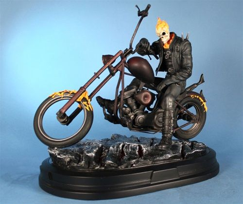 Ghost Rider Statue from Gentle Giant