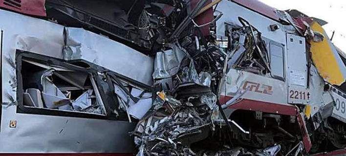 Σύγκρουση τρένων στο Λουξεμβούργο ένας νεκρός [εικόνες]