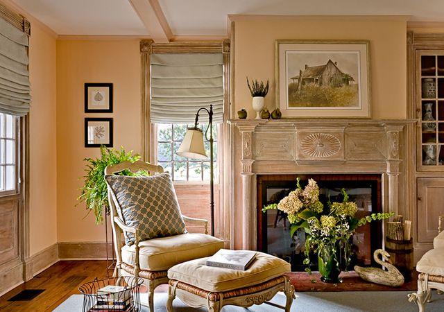 17 best images about paint colors on pinterest paint colors guest rooms and peach bedroom for Farmhouse living room paint colors