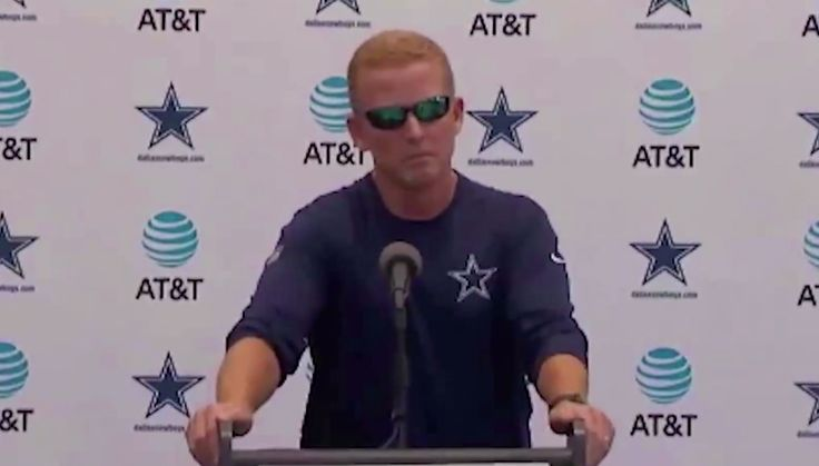 Cowboys head coach Jason Garrett enters the sound bite hall of fame