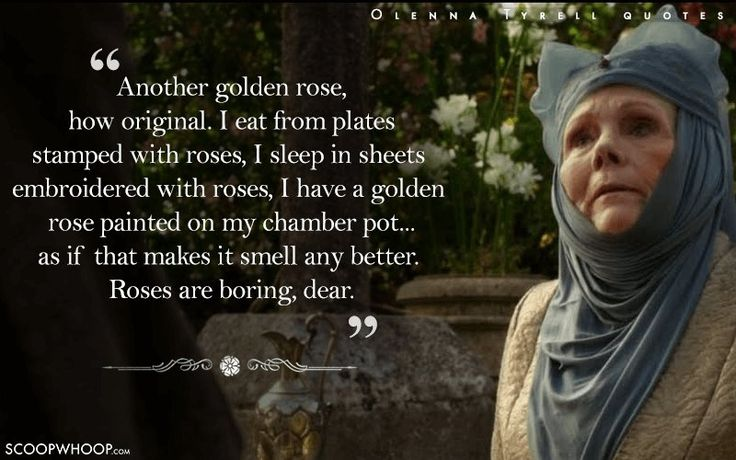 20 Quotes By Olenna Tyrell That Prove Her Words Cut Deeper Than Valyrian Steel
