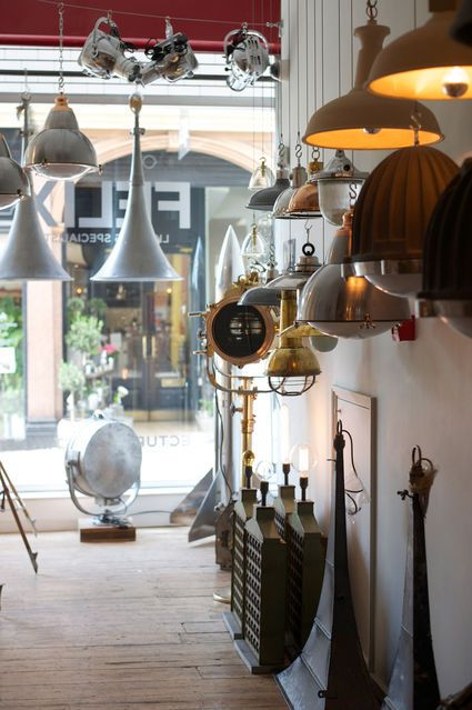 Felix lighting in Bath is an independent lighting shop and manufacturer. They sell and make a range of reconditioned Maritime and industrial lighting.