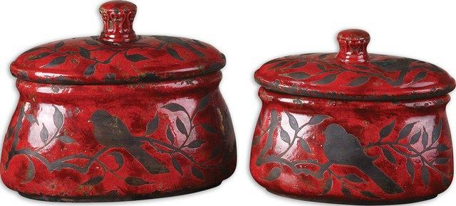 siana red ceramic canisters set traditional kitchen canisters addison ceramic canisters set traditional kitchen canisters