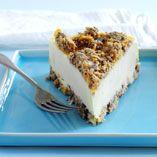 Krispig glasstårta - Recept