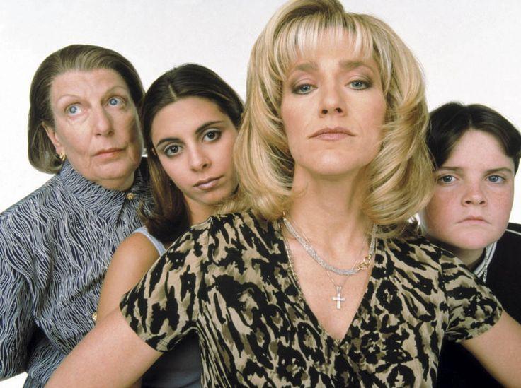 Carmela Soprano, Livia Soprano, Meadow Soprano and AJ Soprano.