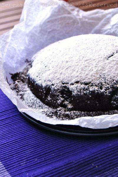 Torta al cioccolato senza grassi
