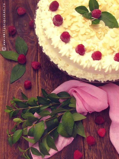 raspberry cake & some love