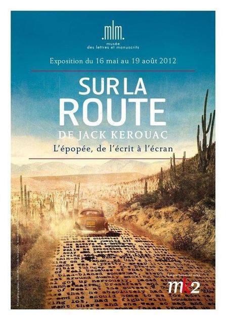 Le tapuscrit de Sur la route, de Jack Kerouac exposé en France