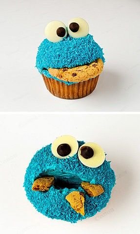 Cookie monster is a cookie!!