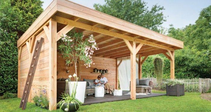 Mooie overkapping voor de tuin!!