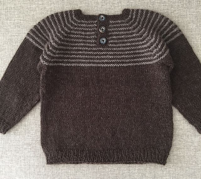 Great for a first time sweater knitter or an experienced knitter looking for a quick and easy project.