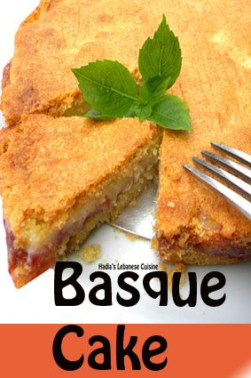 A traditional dessert from the Basque region of France. (An area that boarders France and Spain. It is a specialty that has a pastry cream and jam incased in a cookie almond crust-a cross between a tart and a cake. I love the buttery flaky crust with its distinctive taste of almonds. This cake never fails to impress guests and make any event more festive.