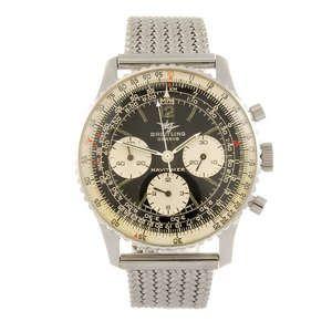 BREITLING - a gentleman's Navitimer 806 bracelet watch