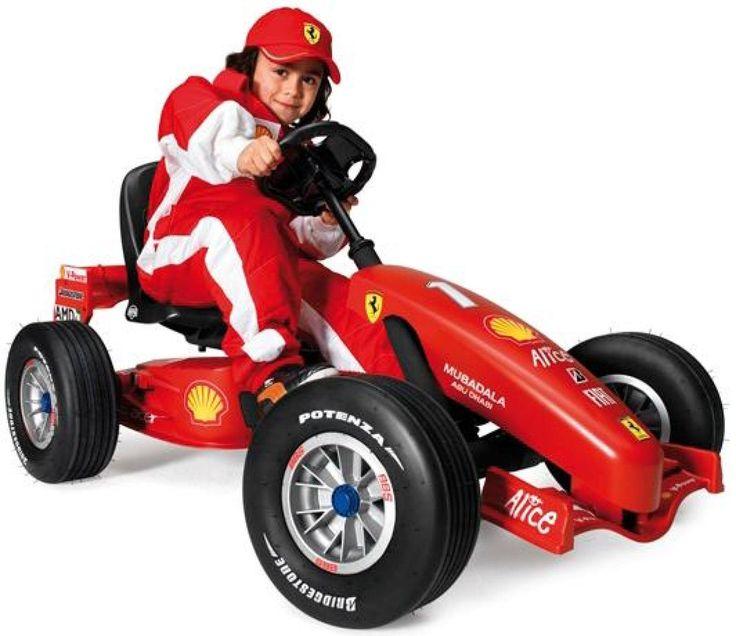 Ferrari Berg Pedale