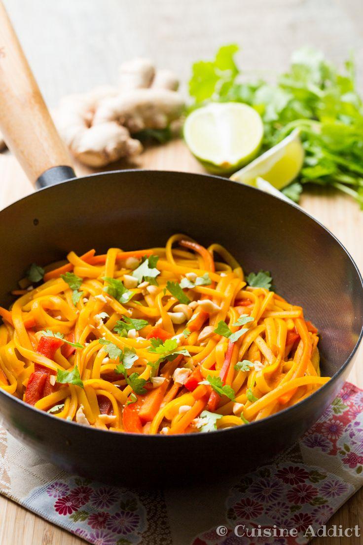 1000 idées sur le thème nouilles aux cacahuètes thai sur pinterest ...