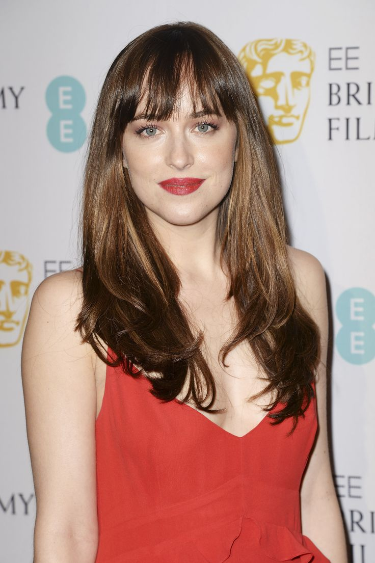 haircut style for hair with bangs 25 best dakota johnson hair ideas on 5891